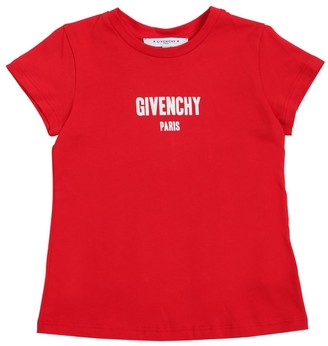 Givenchy Logo Detail Cotton Jersey T-shirt