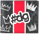 Dolce & Gabbana tDG fold out wallet