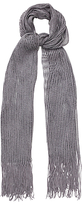 Phase Eight Mira Shimmer Scarf, Pewter