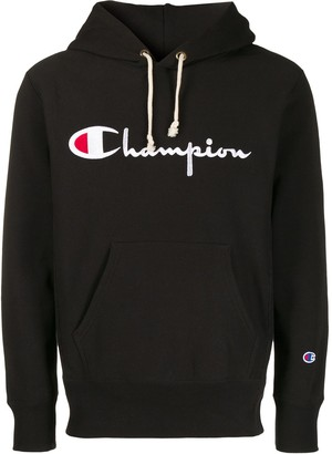 Champion Logo Embroidery Hoodie