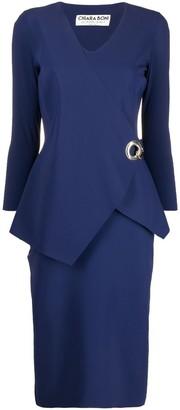 Le Petite Robe Di Chiara Boni Long-Sleeve Midi Dress