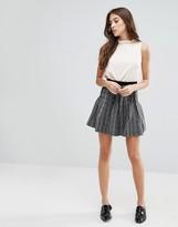 Glamorous Swing Hem Mini Skirt
