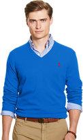 Ralph Lauren Merino Wool V-neck Sweater