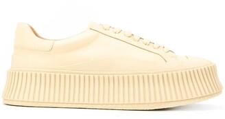 Jil Sander Low-Top Platform Sneakers