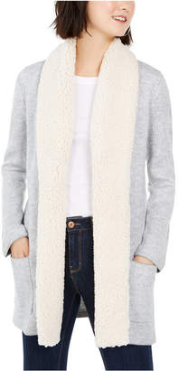 Style&Co. Style & Co Petite Sherpa Cardigan