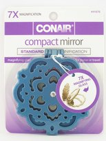Conair 7X Magnification Flip-Up Compact Mirror