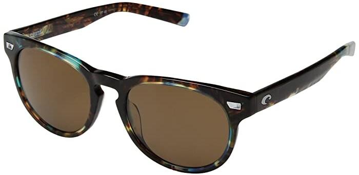 Costa Del Mar Spearo Sunglasses Matte Black Shiny Tortoise//Copper 580Plastic