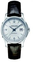 Hamilton Jazzmaster Viewmatic Auto Stainless Steel & Embossed Leather Strap Watch