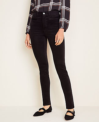 Ann Taylor Corduroy Welt Pocket Skinny Pants