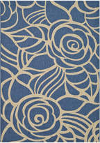 Asstd National Brand Courtyard Transitional Rose Indoor/Outdoor Rectangular Rugs