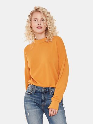 LnA Mock Neck Sweatshirt