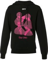Off-White Tour 1993 hoodie - men - Cotton - S