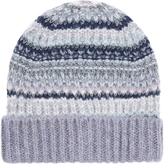 Accessorize Willow Metallic Fairisle Pull On Hat