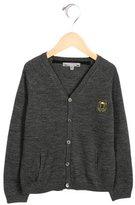 Bonpoint Boys' Wool Knit Cardigan