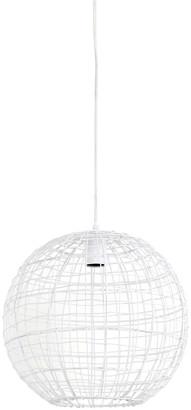 Rhubarb Home - Mirana Matte White Pendant Light Small - white - White/White