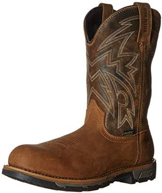"Irish Setter Work Men's Marshall 11"" Waterproof Pull-On Steel Toe Work boot"