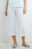 J. Jill Pure Jill Full-Leg Linen Crops