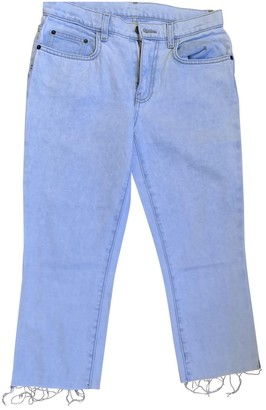 Proenza Schouler Blue Denim - Jeans Jeans