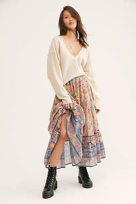 Free People Spell And The Gypsy Collective Seashell Maxi Skirt by Spell and the Gypsy Collective at