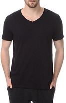 ATM Anthony Thomas Melillo Atm Slub Cotton Slim Fit V Neck Tee