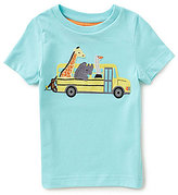 Class Club Adventure Wear by Little Boys 2T-5 School Bus Animal Top