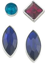 ABS by Allen Schwartz Geometric Stud Earring, Set of 4