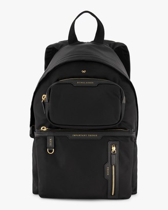 Anya Hindmarch Multi-Pocket Nylon Backpack