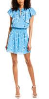 Parker Mock Neck A-Line Dress