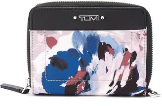 Tumi Tri-Fold Zip-Around Wallet