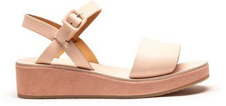 Tracey Neuls - BARBARA Rose | Pink Leather Strap Sandals - 36
