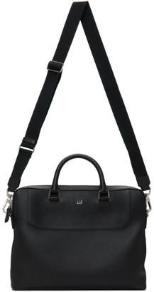 Dunhill Black Belgrave Slim Single Briefcase