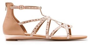 MANGO Embellished Straps Sandals