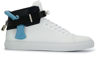 Buscemi lock detail lace-up trainers