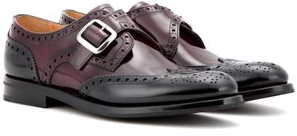 Church's Pattie glossed leather brogues
