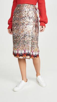 le superbe Goa Shine Wrap Skirt