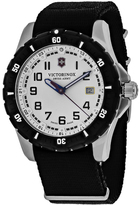 Swiss Army Officers Gent 241676 Men's Nylon and Stainless Steel Watch