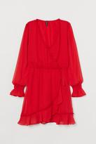 H&M Chiffon Dress - Red