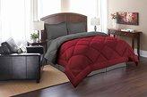 Elegant Comfort ® Goose Down Alternative Reversible 3pc Comforter Set, King/Cal King, Red/Gray