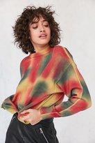 Ecote Tie-Dye Crew-Neck Sweater