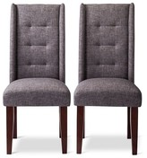 Nobrand No Brand Charlie Pin Tuck Dining Chair (Set of 2)
