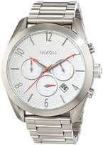 Nixon Womens Quartz Watch, Chronograph Display and Stainless Steel Strap A366-100