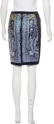 Clover Canyon Printed Mini Skirt