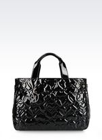 Armani Jeans Tote Bag With Detachable Shoulder Strap