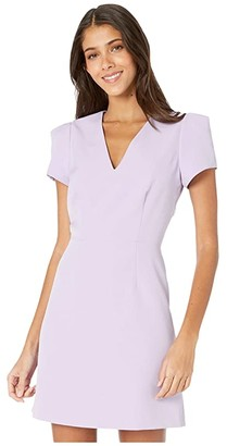 Milly Cady Atalie Dress (Lavender) Women's Clothing