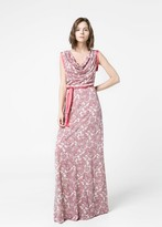 MANGO Draped Gown