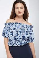 Soprano Tropical Blues Top