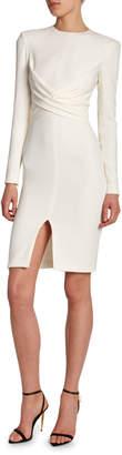 Tom Ford Silk Crisscross-Front Bodycon Dress