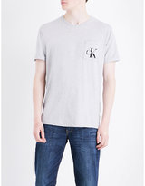 Calvin Klein Bolan True Icon Logo-detail Cotton-jersey T-shirt
