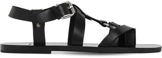 Mattia Capezzani Vacchetta Leather Sandals W/ O Ring
