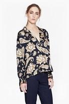 French Connection Sundown Silk Shirt